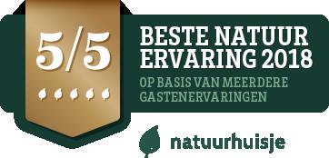 Award natuurhuisje